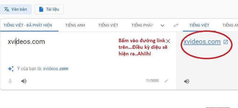 Cách xem pornhub xvideos xnxx không bị chặn với Google dịch