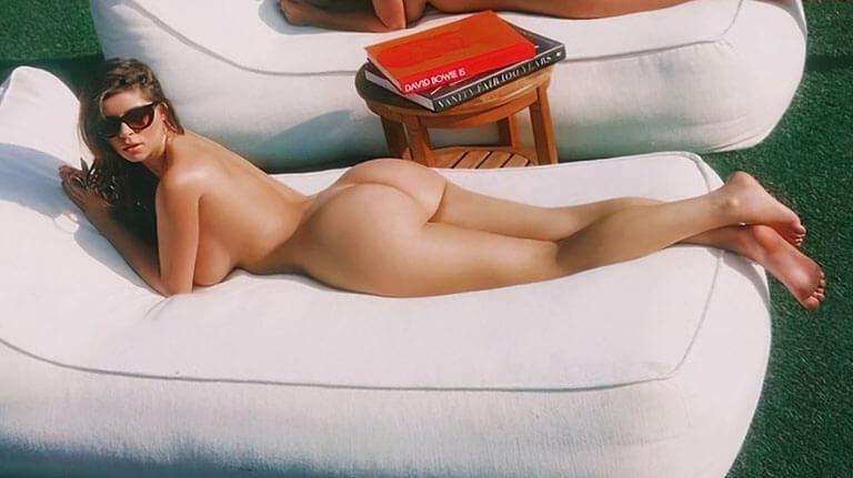 Ngất ngây khi ngắm nhìn nàng mẫu gợi cảm Demi Rose nude