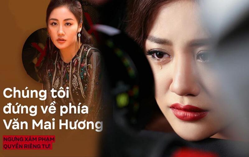 Khán giả và nghệ sĩ đứng về phía Văn Mai Hương