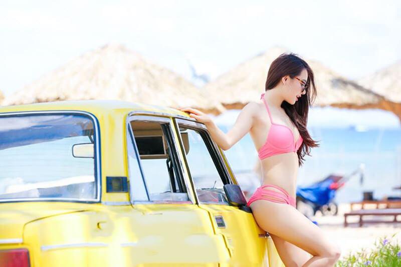 Nhã Phương cực đẹp với bikini 2