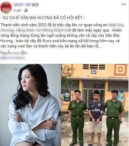 Thủ phạm đứng đằng sau clip Văn Mai Hương là ai?